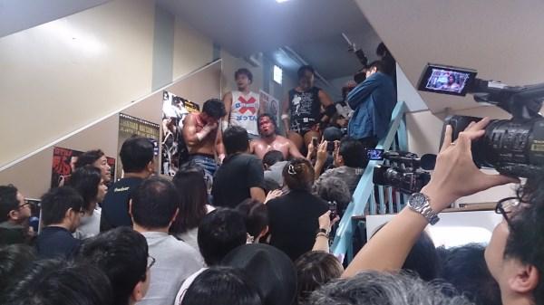 10月2日後楽園 ガンプロ観戦記【その3】 ガンバレ☆集会