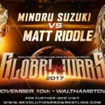 RPW・グローバルウォーズUK 試合結果 2017.11.10 イギリス