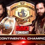 インターコンチネンタル王座戦&アスカが秒殺劇!【WWE・RAW・2017.11.27】