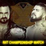 WWE・NXT 2017.11.18 テイクオーバー・ウォーゲームズ 試合結果