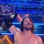 AJスタイルズが新WWE王者に!【WWE・スマックダウンライブ 2017.11.7】
