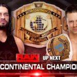 ペイジ復帰&インターコンチネンタル王座戦!【WWE・RAW・2017.11.20】