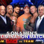 WWE 2017.11.19 サバイバーシリーズ2017 試合結果