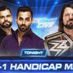 AJスタイルズがハンディキャップマッチ、オーエンズ対オートンのノーDQ戦!【WWE・スマックダウンライブ 2017.11.28】