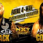 次期NXT王座挑戦者決定戦・予選!アレイスター・ブラック対アダム・コール!【WWE・NXT・2017年12月】
