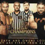 WWE 2017.12.17 クラッシュ・オブ・チャンピオンズ2017の対戦カード