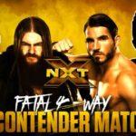 ノーホールズバードマッチ&次期NXT王座挑戦者決定戦・予選!【WWE・NXT・2017年12月】
