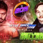 イタミ・ヒデオ対ジャック・ギャラガー!【WWE・205Live・2017年12月】
