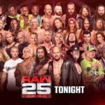 RAW25周年記念大会!レジェンド大集結!【WWE・RAW・2018.1.22】