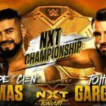 NXT王座戦!敗れたらアルマスはベルト、ガルガノはキャリアを失う…【WWE・NXT・2018年2月】