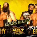 NXTタッグ王座戦が6人タッグトルネードマッチに変更!【WWE・NXT・2018年2月】