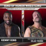 ケニー・キングがROH世界TV王座奪回!【ROH・#336】