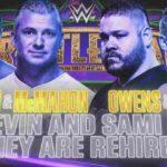 WWE 2018.4.8 レッスルマニア34の対戦カード