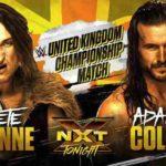 アダム・コールがUK王座に挑戦&キャンディス・レラエがゼリーナ・ベガを襲撃【WWE・NXT・2018年3月】