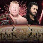WWE 2018.4.27 グレイテストロイヤルランブルの対戦カード