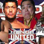 ROH 試合結果 2018.5.24 オナーユナイテッド・UKツアー