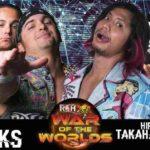 ROH 試合結果 2018.5.9 ウォーオブザワールドツアー・ローウェル