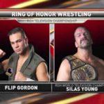 フリップ・ゴードンがROH世界TV王座に挑戦!【ROH・#345】