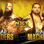 ハンソン&ロウが本格始動!ウォーレイダーズ対ヘビーマシナリー!【WWE・NXT・2018年5月】