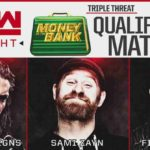 MITB戦出場者決定戦!レインズ対ゼイン対ベイラー!IC王座戦はオープンチャレンジ!【WWE・RAW・2018.5.7・PART2】