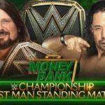 WWE 2018.6.17 マネー・イン・ザ・バンク2018の対戦カード