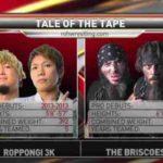 ロッポンギ3KがROH世界タッグ王座に挑戦!【ROH・#351】