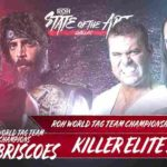 ROH 試合結果 2018.6.16 ステートオブジアート