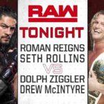 レインズ&ロリンズ対ジグラー&マッキンタイア!【WWE・RAW・2018.7.2・PART1】