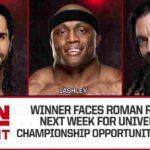 ボビー・ラシュリーが次期ユニバーサル王座挑戦者決定戦進出!【WWE・RAW・2018.7.16・PART2】