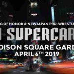 新日本プロレス&ROHがマジソンスクエアガーデンに進出!【新日本プロレス・2019年4月】