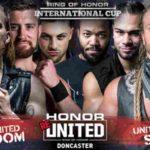 ROH 試合結果 2018.8.18 オナーリユナイテッド・ROHインターナショナルカップ決勝戦
