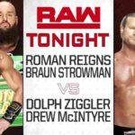 レインズ&ストローマン対ジグラー&マッキンタイア!ストローマンが先週のリベンジ!【WWE・RAW・2018.8.27・PART2】