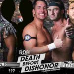 ROH・2018.9.28&29・デスビフォアーディスオナーの対戦カード
