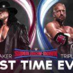WWE・2018.10.6・スーパーショーダウン2018・試合結果・PART2【クルーザー級王座戦~アンダーテイカー対トリプルH】