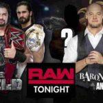 シールド対バロン・コービン&AOP!【WWE・RAW・2018.9.24・PART2】