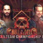 WWE・2018.9.16・ヘルインアセル2018・試合結果・PART1【キックオフショー~RAWタッグ王座戦】