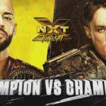北米王者リコシェ vs 英国王者ピート・ダン!ダブルタイトルマッチ!【WWE・NXT・2018年9月】