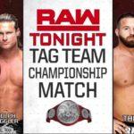RAWタッグ王座戦!フィン・ベイラー対ジンダー・マハル!【WWE・RAW・2018.9.24・PART1】