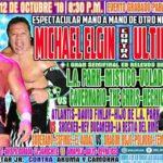 マイケル・エルガン対ウルティモ・ゲレーロ!おひねりが乱れ飛ぶ!【CMLL・2018年10月】