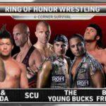 ロスインゴ対ヤングバックス対アディクション対ベストフレンズ!チェイス・オーエンズが7年ぶりにROH参戦!【ROH・#369】