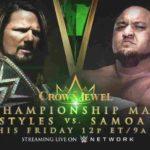 WWE・2018.11.2・クラウンジュエル・試合結果・PART2【WWE王座戦~DX vs 破壊兄弟】
