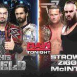フィン・ベイラー対ジンダー・マハル!シールド対ストローマン&ジグラー&マッキンタイア!【WWE・RAW・2018.10.15・PART2】