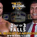CodyがNWA世界ヘビー級王座から陥落!【新日本プロレス・2018年10月】