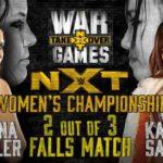 WWE・2018.11.17・NXTテイクオーバー:ウォーゲームズ2・試合結果・PART1【シングルマッチ~ガルガノ対ブラック】