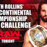 IC王座戦・オープンチャレンジ、セス・ロリンズ対ドルフ・ジグラー!フィン・ベイラー対バロン・コービン!【WWE・RAW・2018.11.26・PART2】