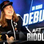 マット・リドルがブロミッションでデビュー戦快勝!【WWE・NXT・2018年10月】