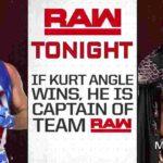チームRAW・キャプテン決定戦、カート・アングル対マッキンタイア!3週連続のベイラー対ラシュリー!【WWE・RAW・2018.11.5・PART2】
