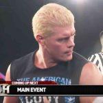 Cody対ケニー・キング!サンドマン対サイラス・ヤング!【ROH・#372】