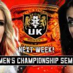 トニー・ストーム、リア・リプリーが初代NXT UK女子王座決定トーナメント・決勝戦進出!【WWE・NXT UK・2018年11月】
