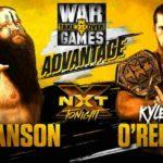 ハンソン対カイル・オライリー!テイクオーバー:ウォーゲームズ2直前回!【WWE・NXT・2018年11月】